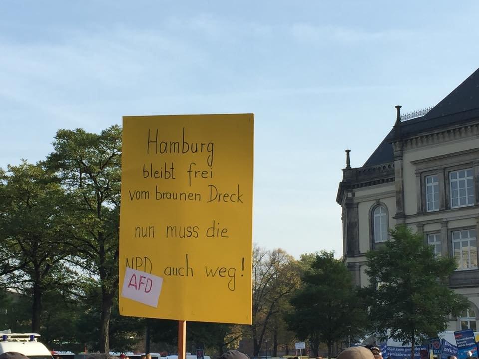 Im November will die AfD in der Innenstadt demonstrieren - und wird blockiert.