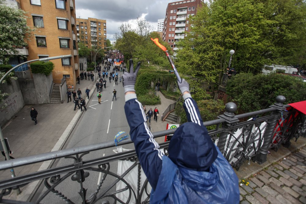 1. Mai 2015, Never mind the papers, Foto: Christian Schnebel