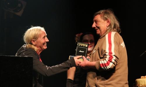 Ehrenpreis für Gerd Bertram
