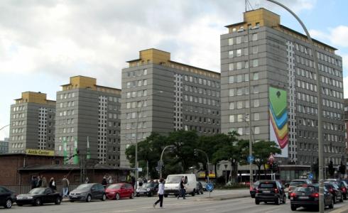 Der City Hof heute, noch der Sitz der Bezirksamts Hamburg-Mitte.
