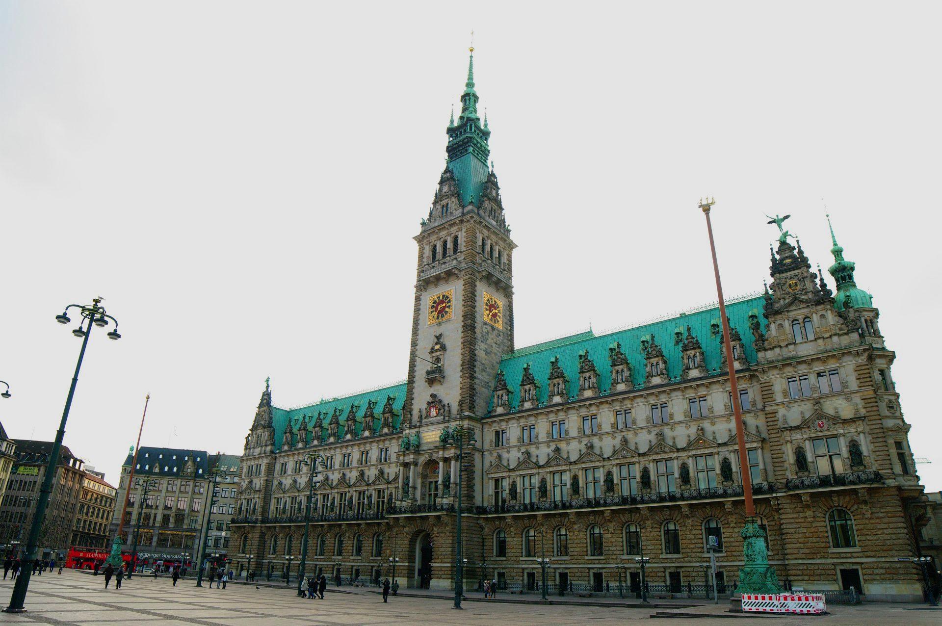 Rathaus Hamburg, (c) Jonas Walzberg