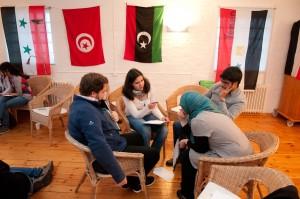 Foto: Arne List Gründungsworkshop von Yalla im Oktober 2011