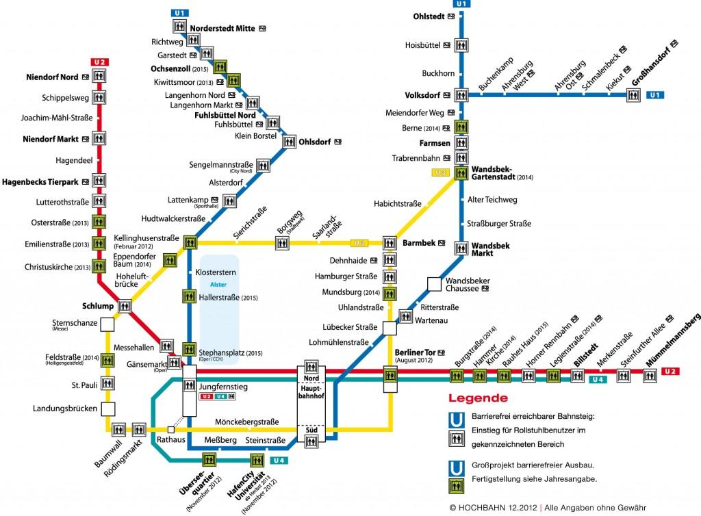 Quelle Hochbahn Karte+barrierefreier+Ausbau
