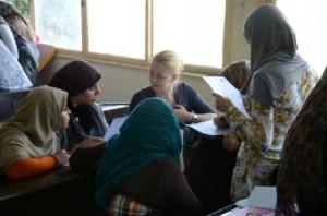 Workshop in Ägypten Foto: Jannik Veenhuis