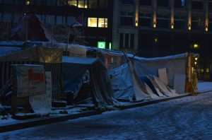 Foto: Jonas Walzberg Occupy Camp