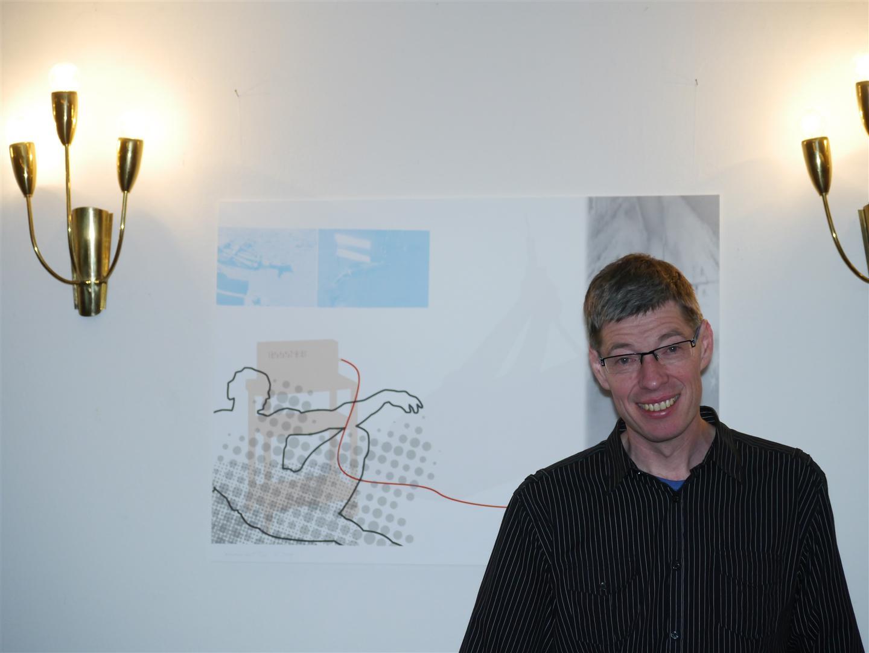 Pastor Ulfert Sterz in seiner Kirche in Veddel