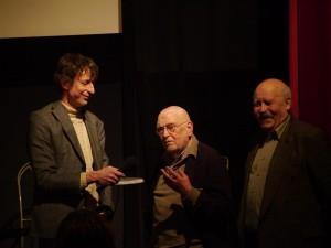 Rasmus Gerlach, Klaus Wildenhahn und Rudolf Körösi (v.l.n.r.)