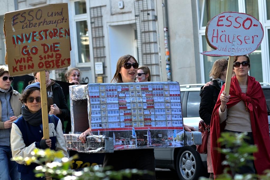Foto: Jonas Walzberg | Demonstration gegen Mietenwahnsinn