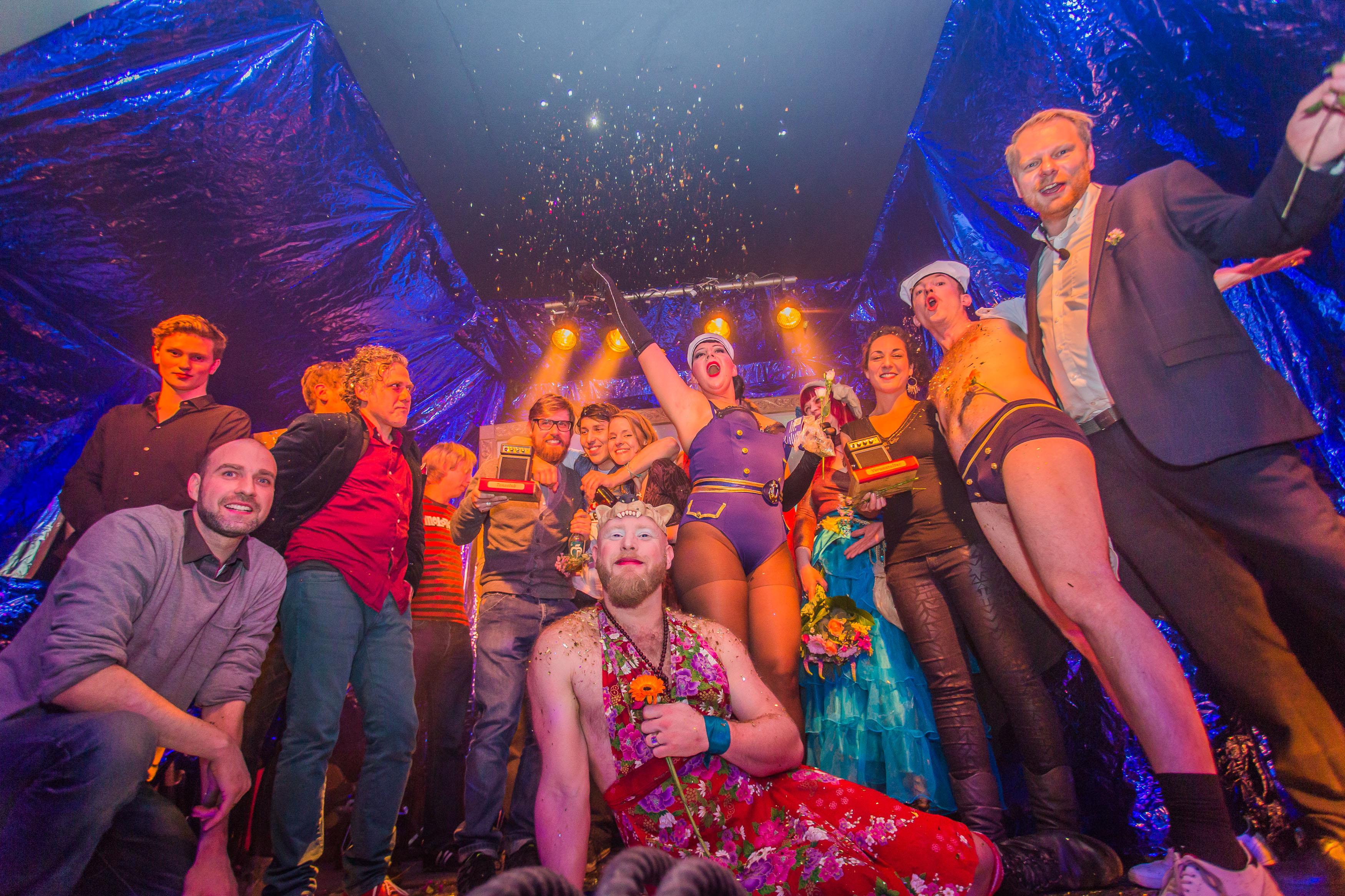 Club Award Preisverleihung 2014, Clubkombinat, Fundbureau Foto: Peter Eichelmann
