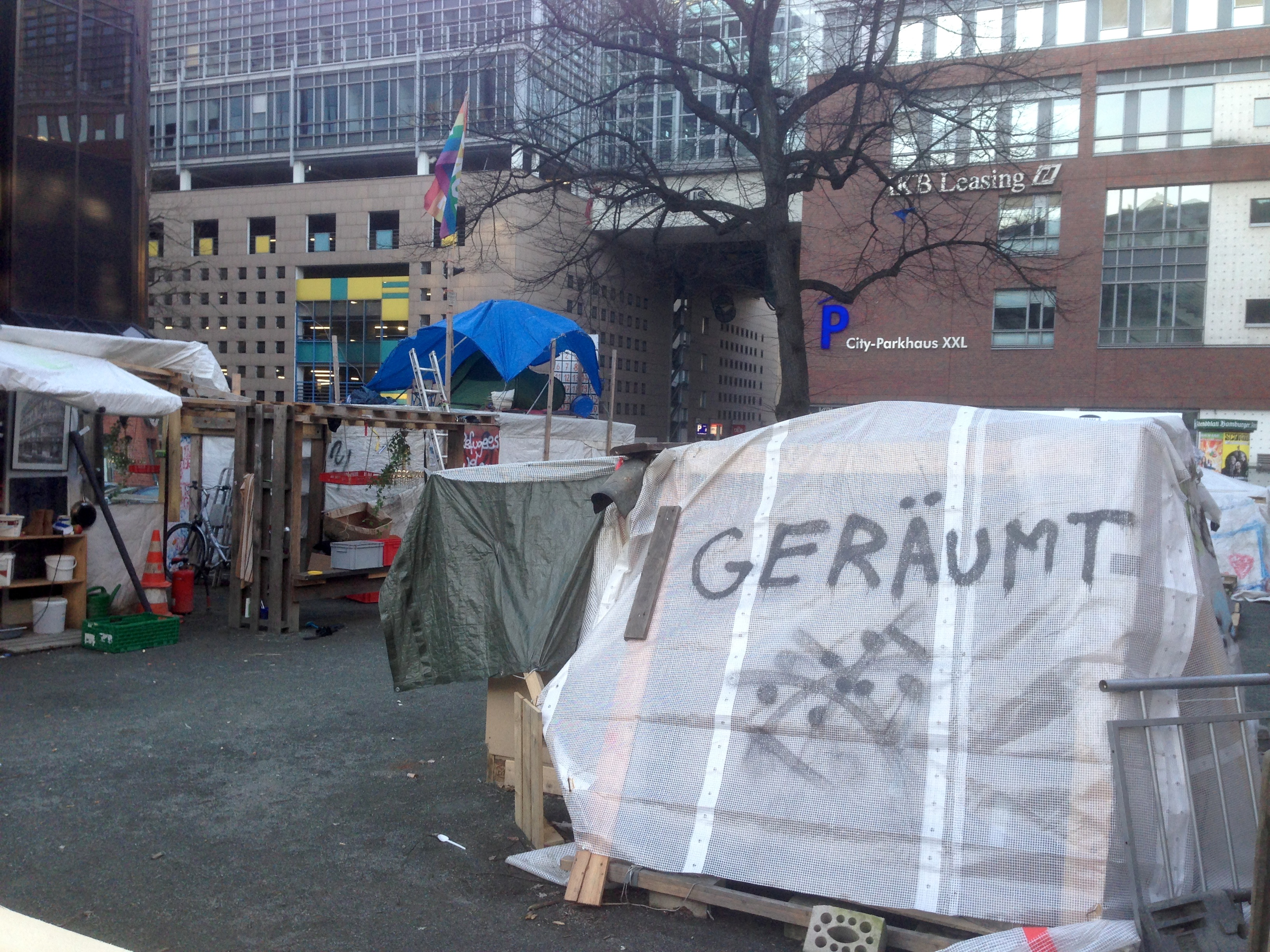 Foto: Dominik Brück - Occupy Camp