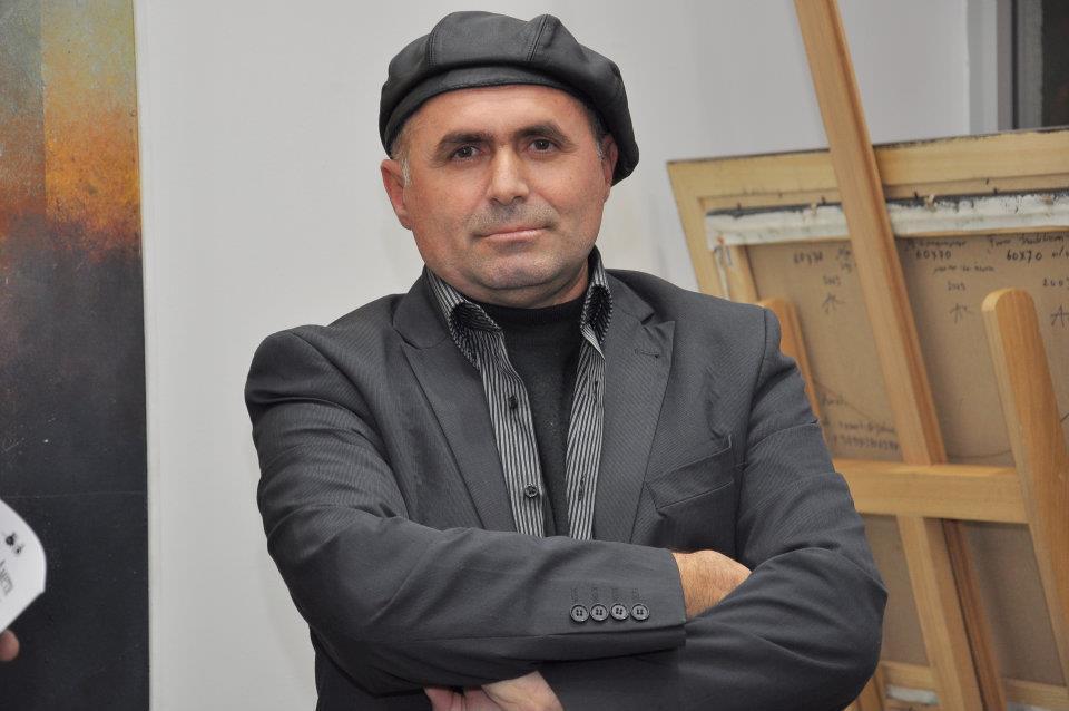 Der mazedonische Maler Reshat Ameti