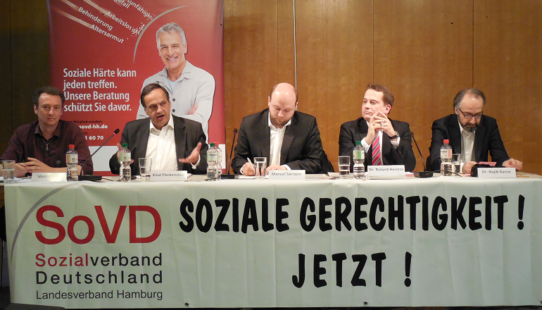 Diskussion Europaparlament 2014