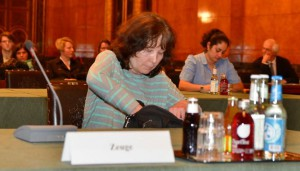Die Kinderärztin Brigitte von Bosse berichtet gestern im PUA, dass Yagmur schon früh Missbrauchsspuren. aufwies. Foto: Jonas Walzberg