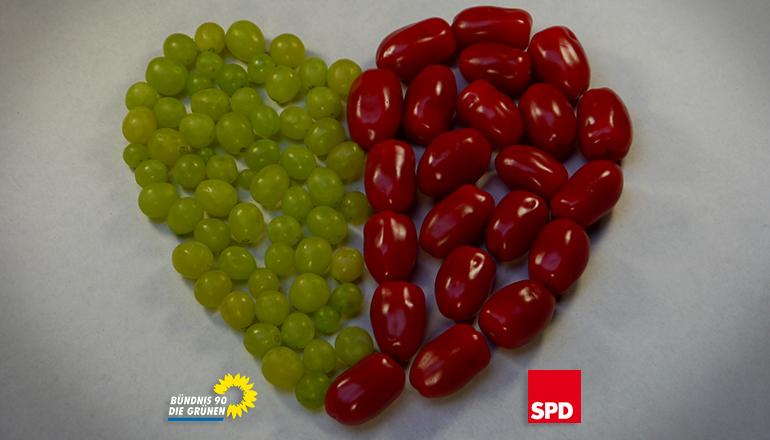 WeinTomatenLove_titel - Koalition Bezirk SPD Grüne | Foto: Tobias Johanning & Vanessa Kleinwächter