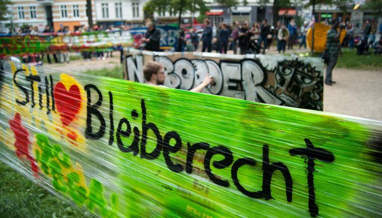 Straßenfest Bleiberecht | Foto: Tobias Johanning