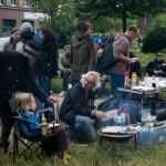 Kein Straßenfest im Karoviertel ohne vegetarisches Essen