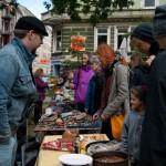 Alle Einnahmen des Flohmarkts gingen an Lampedusa in Hamburg