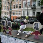 """Bei """"Wirf den Scholz"""" durfte auf deutsche Politiker geworfen werden"""