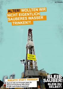 Cannabis-Kampagne-Satire: Fracking | Foto: Tobias Johanning