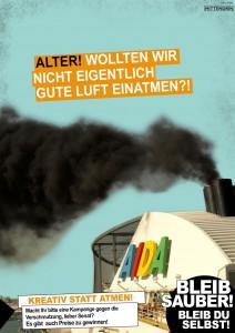 Alternativ-Kampagne Luftverschmutzung