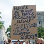 Nicht nur in Hamburg wird über die Rechte von Flüchtlingen diskutiert.