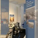 Ein Motorrad von den Stadtparkrennen 1936-1952   Foto Michael Zapf, Hamburg Museum