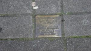 Stolperstein Schmuckstraße 7 | Foto: Vanessa Kleinwächter