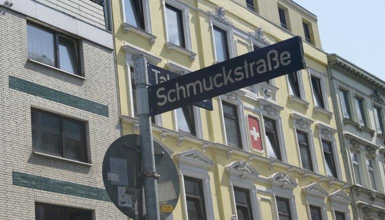 Straßenschild Schmuckstraße | Foto: Vanessa Kleinwächter