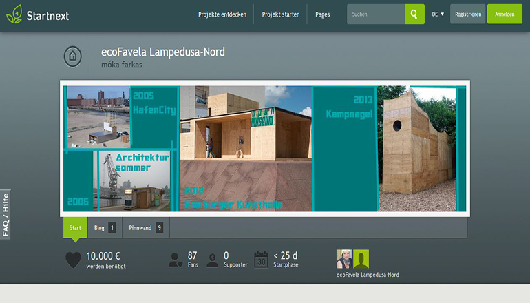 lampedusahh|Foto:Screenshot/Startnext