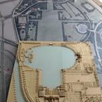 Modell und Karte des Stadtpark   Foto Michael  Zapf, Hamburg Museum