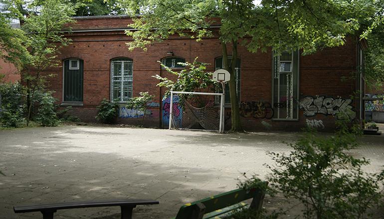 Turnhalle Rostocker Straße | Foto: Julien Bohnsack