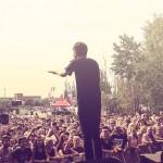 Gerards Musik ist ein Mix aus Hiphop und Elektro - und passte damit bestens ins Spektrum-Line Up