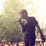 """""""Blausicht"""" heißt das Album von Gerard, der mit melancholischen Texten überzeugte."""