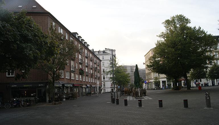Hansaplatz September 2014 |Foto: Isabella David
