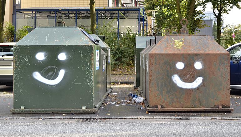 Graffitis von OZ: Ist das Kunst oder kann das weg?