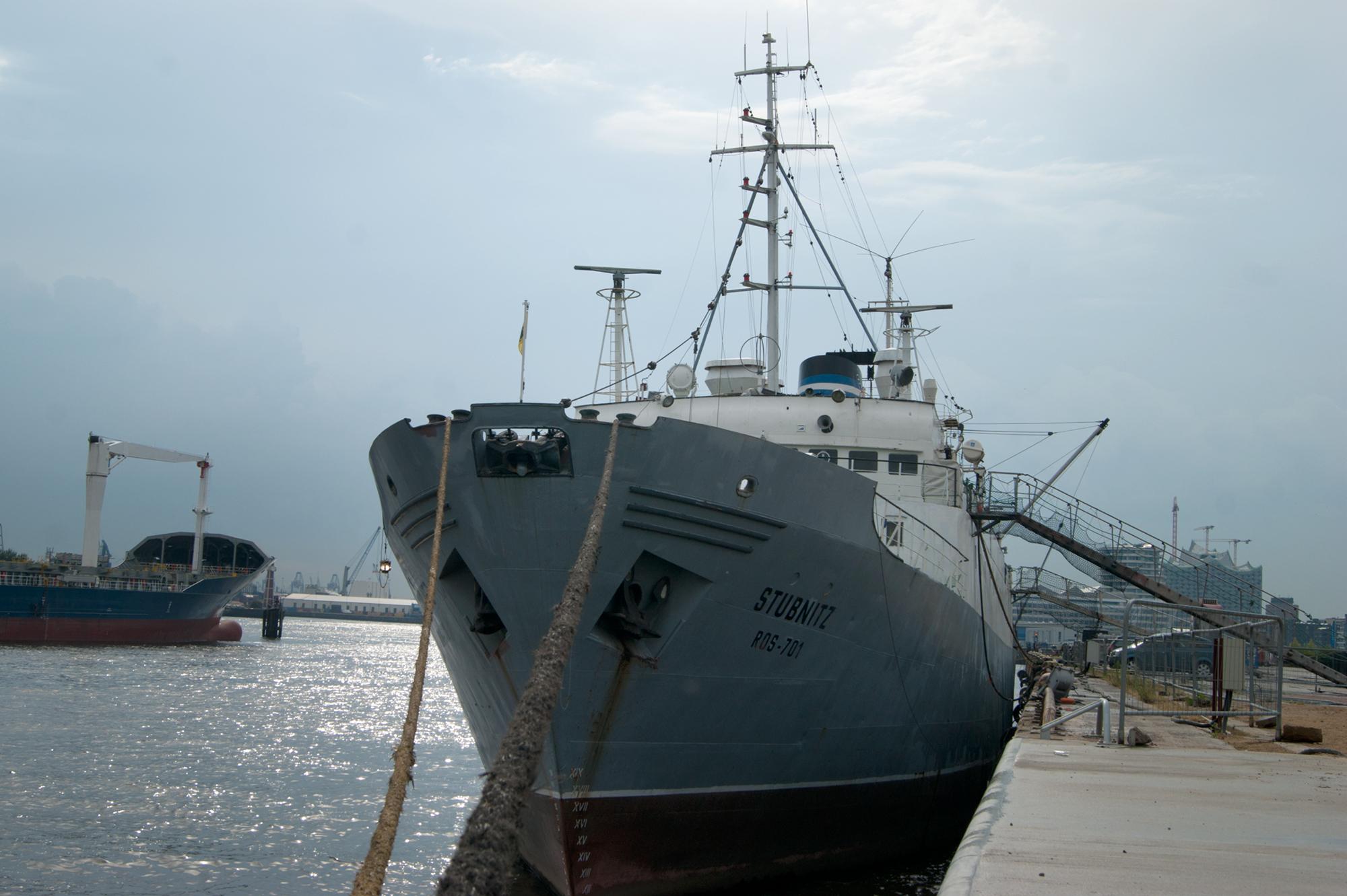 Bildergalerie: An Bord der MS Stubnitz