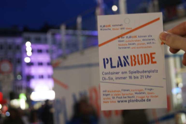Planbude Foto: Julien Bohnsack