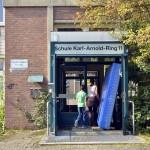 Karl Arnold Ring, Wilhelmsburg, Flüchtlingsunterbringung | Foto: Tobias Johanning