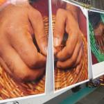 Eindrücke der Fotoausstellung Lampedusa in Hamburg