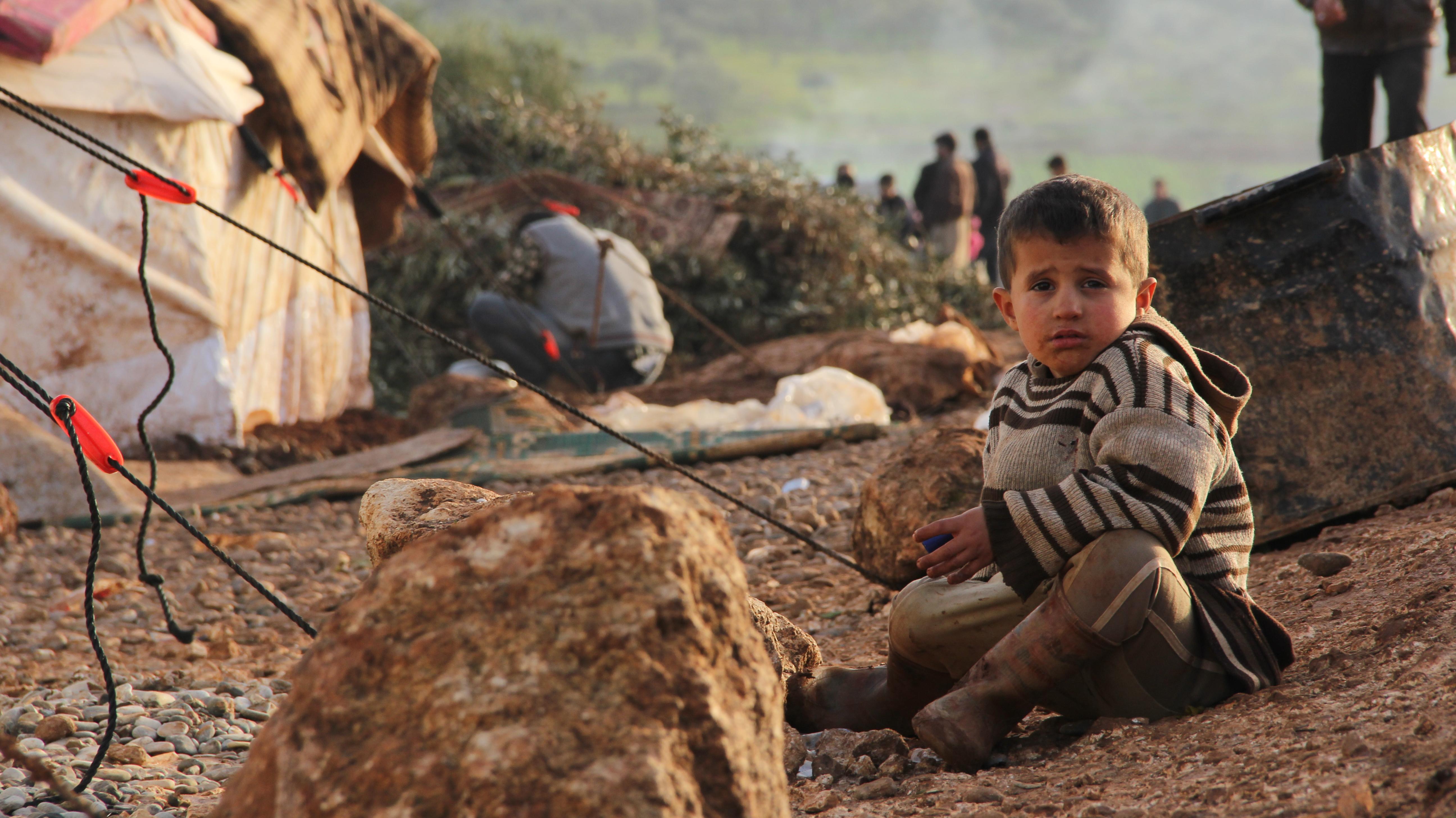 Foto von Fadi Zaidan - Syrisches Flüchtlingskind