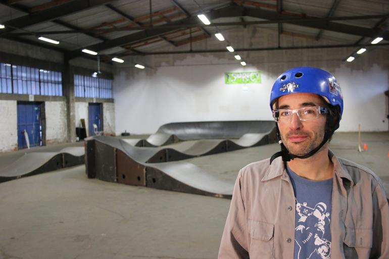 Skatehalle |Foto: Henry Lührs