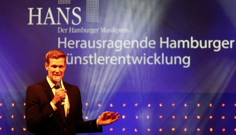 Götz Bühler wird den Hamburger Musikpreis 2014 moderieren