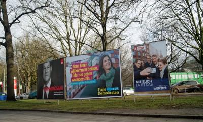 Bürgerschaftswahl 2015, Foto: Isabella David