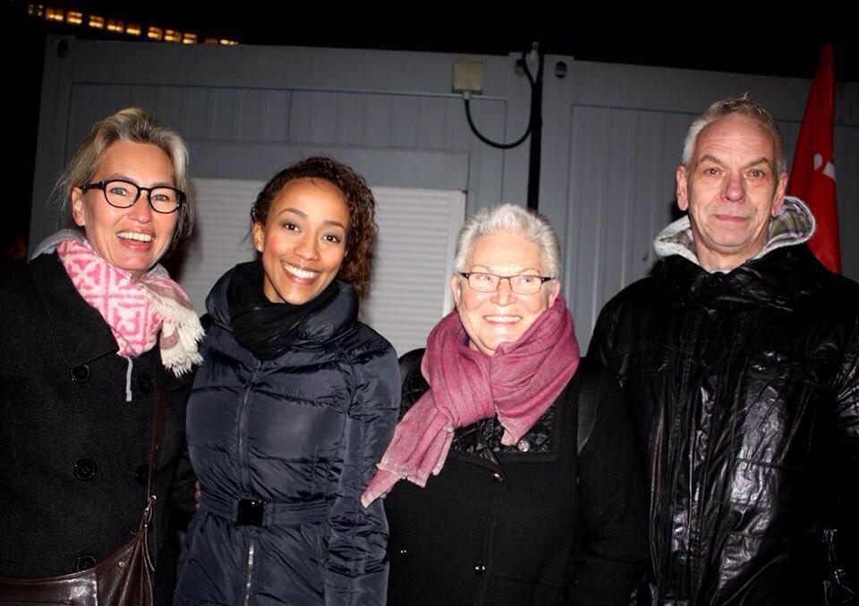 Die Tegida-Organisatoren (v.l.): Hendrikje Blandow-Schlegel, Sidonie Fernau, Dr. Wilma Simon und Horst Schneider.
