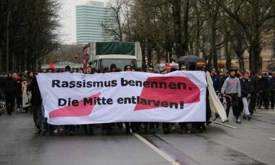 Rassismus benennen Demo 29. März 2015, Foto: Henry Lührs