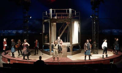 Thalia Theater, Die drei Musketiere, Foto: Fabian Hammerl.