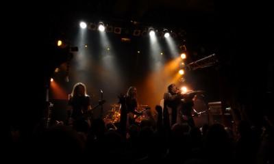 Exodus im Knust Hamburg 1. Juni 2015