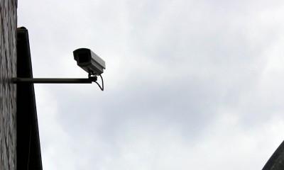 Kamera an der Davidwache