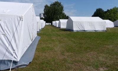 Flüchtlingsunterkunft Jendfeld, Foto: Christiane Schneider