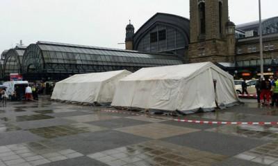 Zelte am Hauptbahnhof, Foto: Flüchtlingshilfe Hauptbahnhof
